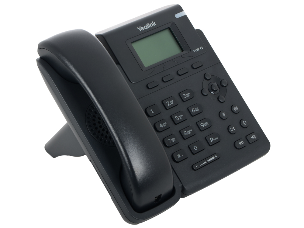 Телефон VoIP Yealink SIP-T19P E2 SIP-телефон, 1 линия, PoE practical voip security