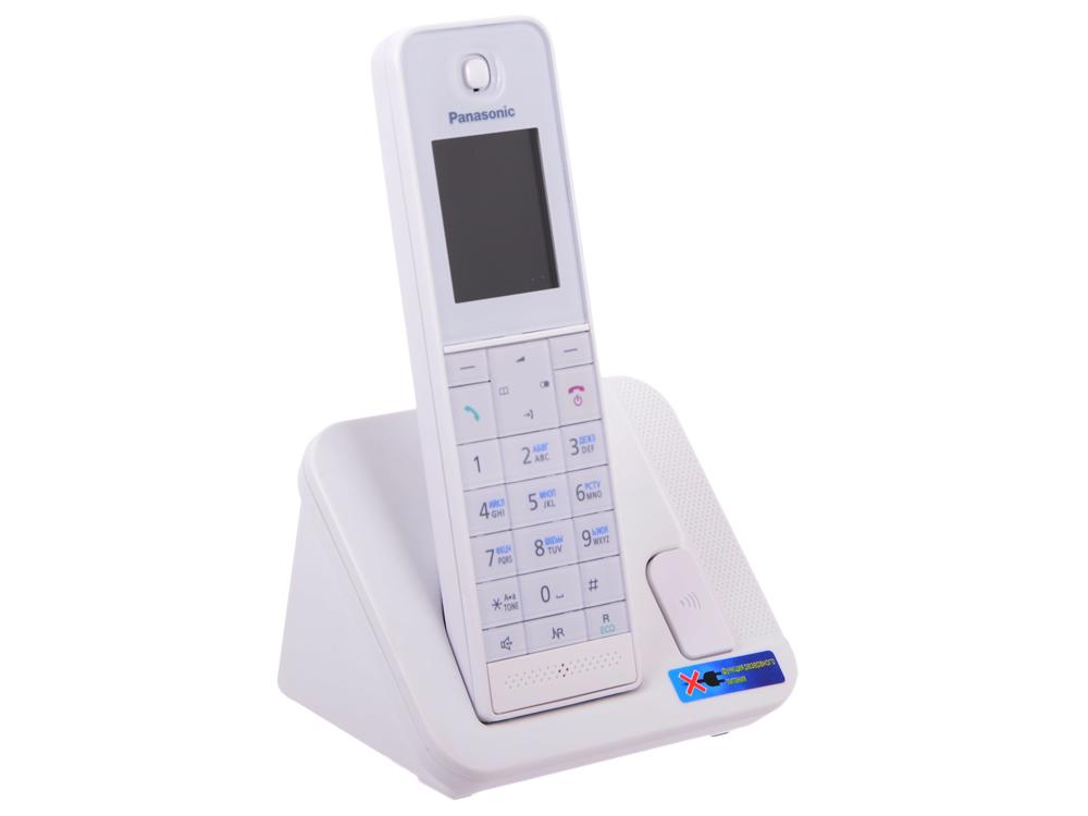 Телефон DECT Panasonic KX-TGH210RUW АОН, Color TFT, Caller ID 50, Эко-режим, Память 200, Black-List телефон panasonic kx dt546rub черный