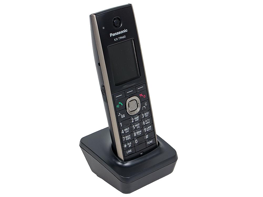 Телефон IP DECT Panasonic KX-TGP600RUB SIP Цифр. IP-телефон, VoIP, Ethernet, UpTo 8 HSet/Line, Память 500, Звук HD телефон ip dect panasonic kx tpa60rub sip трубка цифр ip телефон