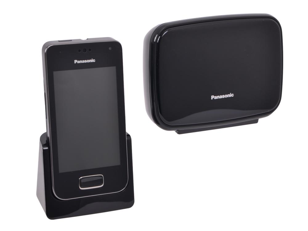 Телефон DECT Panasonic KX-PRX150B GSM, 3G, АОН, Caller ID 50, Color TFT, Android, Wi-Fi, Автоответчик