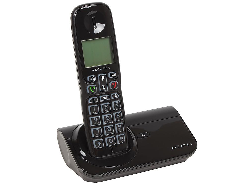 Телефон DECT ALCATEL SIGMA 260 DUO АОН, Caller ID 50, 10 мелодий, Спикерфон, дополнительная трубка
