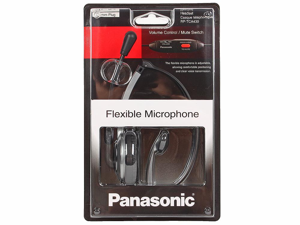 все цены на Гарнитура для проводных и DECT телефонов Panasonic RP-TCA430E-S Silver