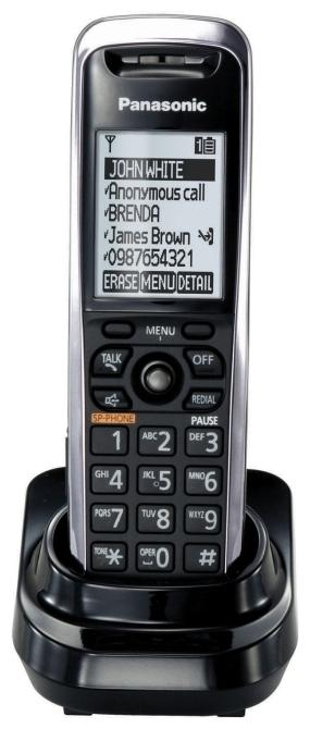Дополнительная трубка для IP-телефона Panasonic KX-TPA500B09
