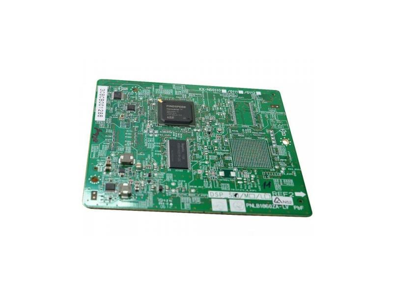 Плата Volp DSP тип S Panasonic KX-NS5110X атс panasonic kx tem824ru аналоговая 6 внешних и 16 внутренних линий предельная ёмкость 8 внешних и 24 внутренних линий