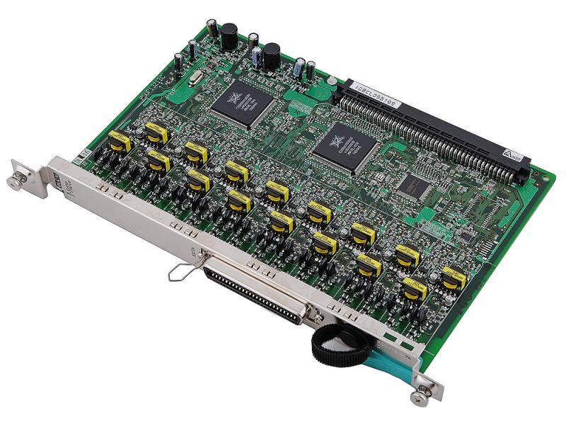 Плата дополнительных линий Panasonic KX-TDA0172XJ 16 внутренних цифровых портов для TDA100/200 дополнительные линии panasonic kx tda0174xj 16port for tda100 200