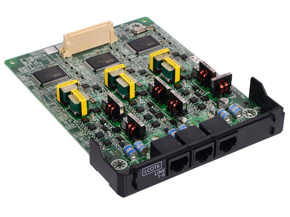 Плата расширения Panasonic KX-NS5180X атс panasonic kx tem824ru аналоговая 6 внешних и 16 внутренних линий предельная ёмкость 8 внешних и 24 внутренних линий