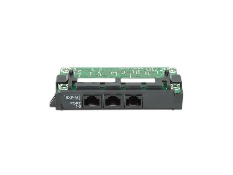 Плата расширения Panasonic KX-NS5130X ведущая плата расширения с 3-мя портами EXP-M плата расширения crown iq3 pip lite