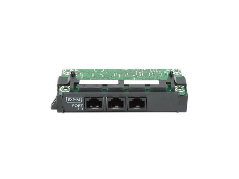 Плата расширения Panasonic KX-NS5130X ведущая плата расширения с 3-мя портами EXP-M