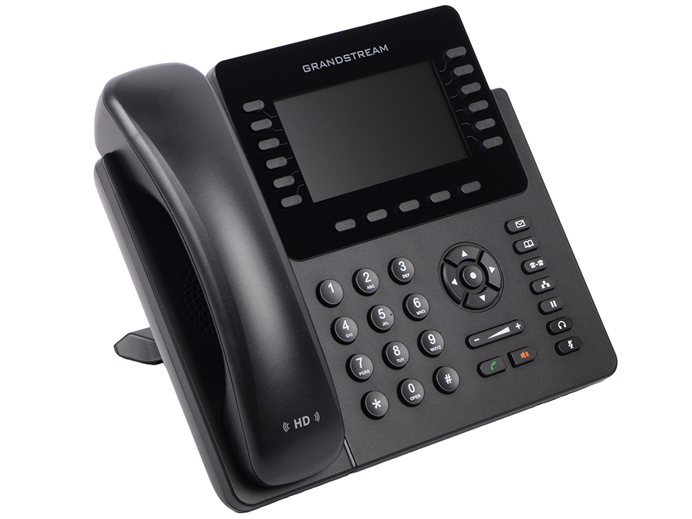 Телефон IP Grandstream GXP-2170 12 линий 6 SIP-аккаунтов 2x10/100/1000Mbps цветной LCD PoE USB Bluet телефон ip grandstream gxp 1630 3 линии 3 sip аккаунта 2x10 100 mbps lcd poe blf