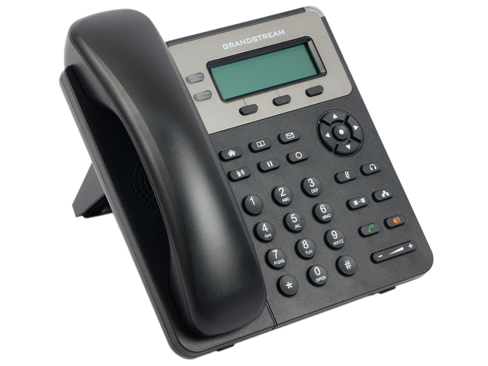 Телефон IP Grandstream GXP-1620 2 линии 2 SIP-аккаунта 2x10/100Mbps LCD телефон ip grandstream gxp 1630 3 линии 3 sip аккаунта 2x10 100 mbps lcd poe blf