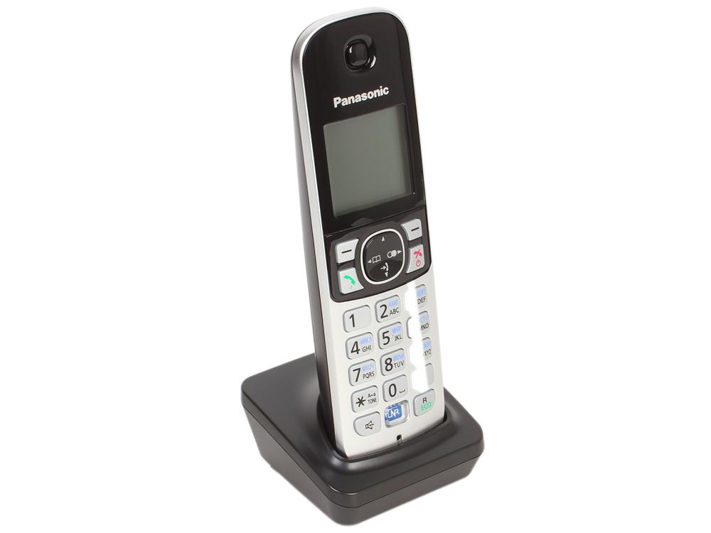 Телефон DECT Panasonic KX-TGA681RUB телефон panasonic kx dt546rub черный