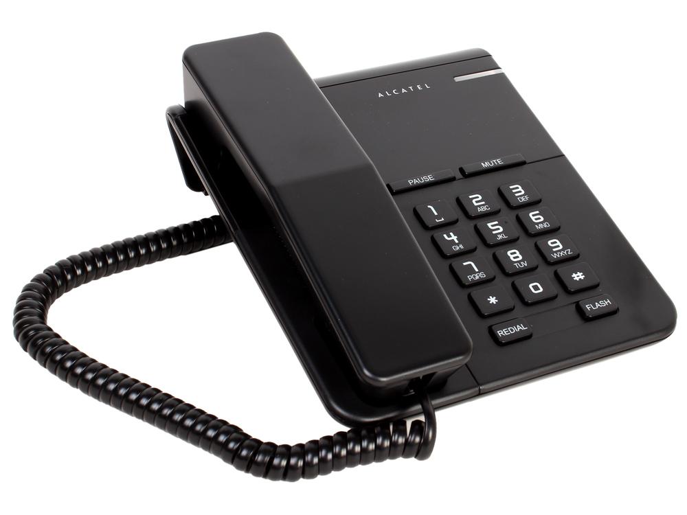 Телефон ALCATEL T22 Black Flash, Recall, Wall mt.
