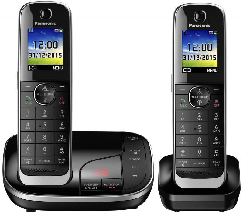 Радиотелефон DECT Panasonic KX-TGJ322RUB черный