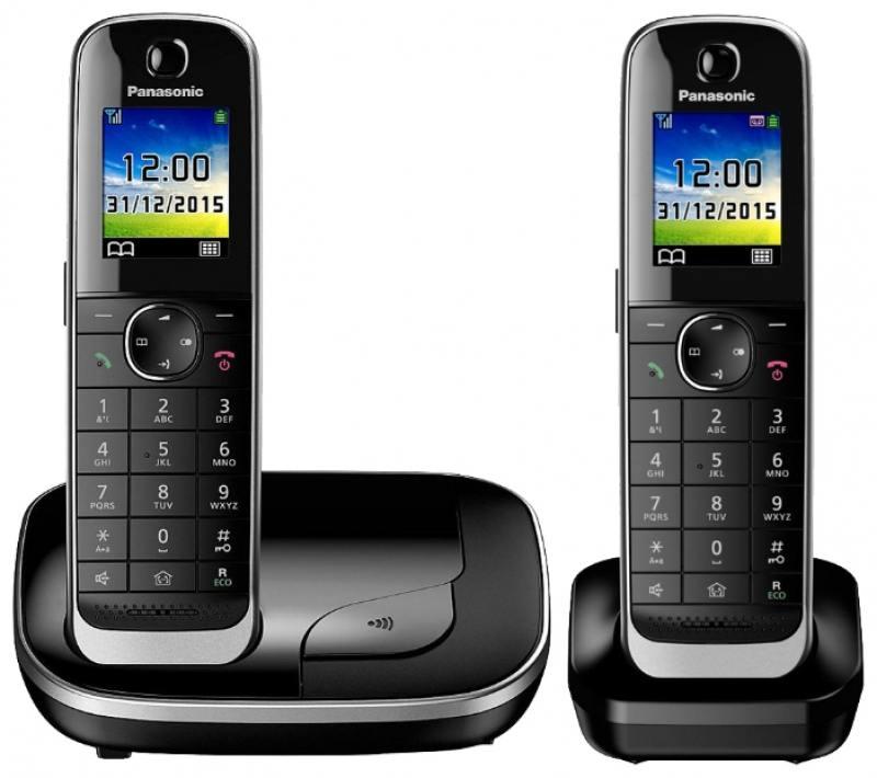 Радиотелефон DECT Panasonic KX-TGJ312RUB черный