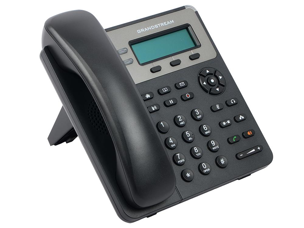 Телефон IP Grandstream GXP-1615 2 линии 1 SIP-аккаунта 2x10/100Mbps LCD voip телефон grandstream networks gxp2160