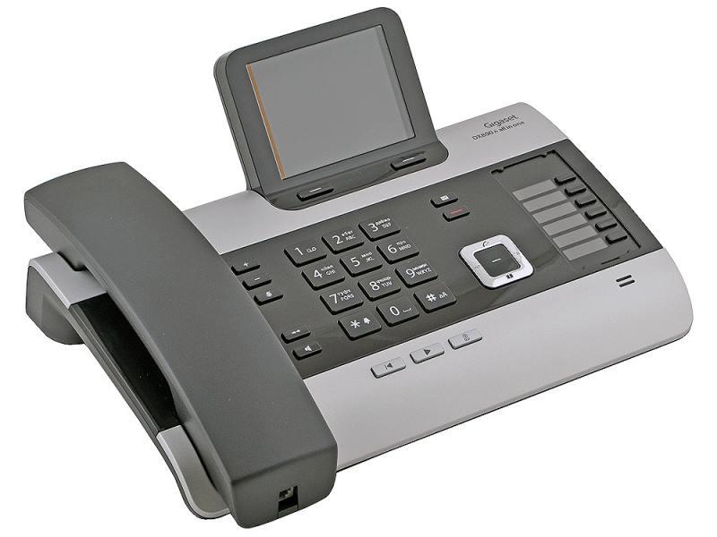 Телефон IP Siemens GIGASET DX800A VoIP ISDN 2xLAN Bluetooth all-in-one темно-серый