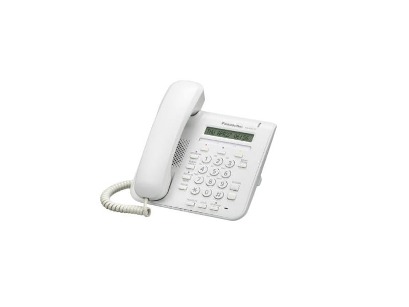 Телефон IP Panasonic KX-NT511PRUW белый телефон