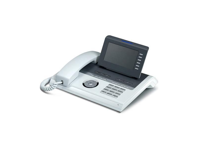 Телефон IP Siemens Unify OpenStage 40 HFA V3 прозрачный лёд L30250-F600-C246