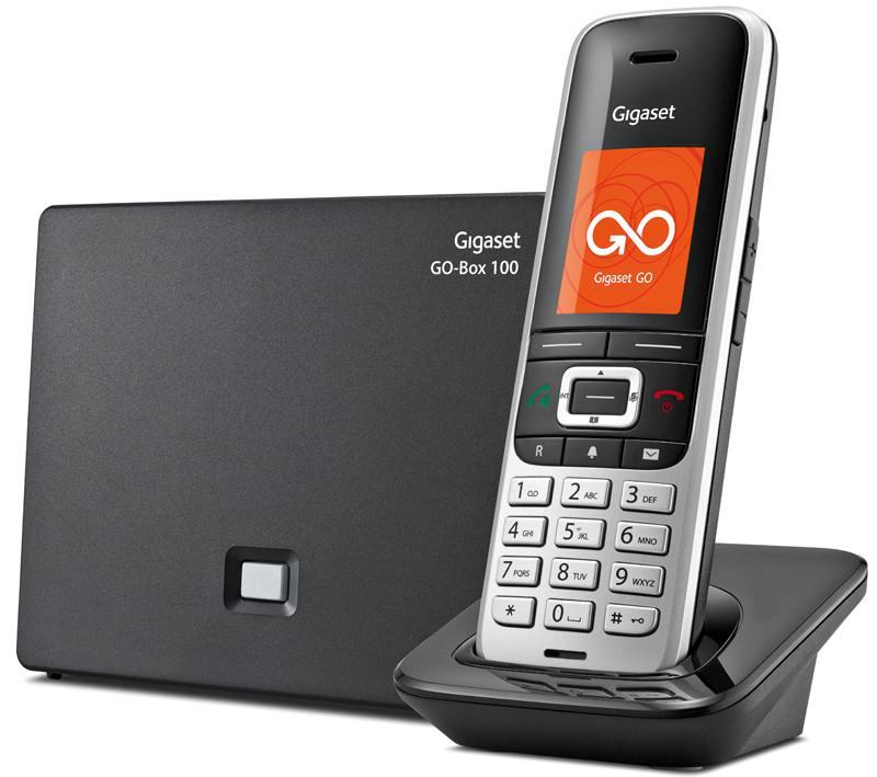 Телефон IP Gigaset S850A GO серебристый