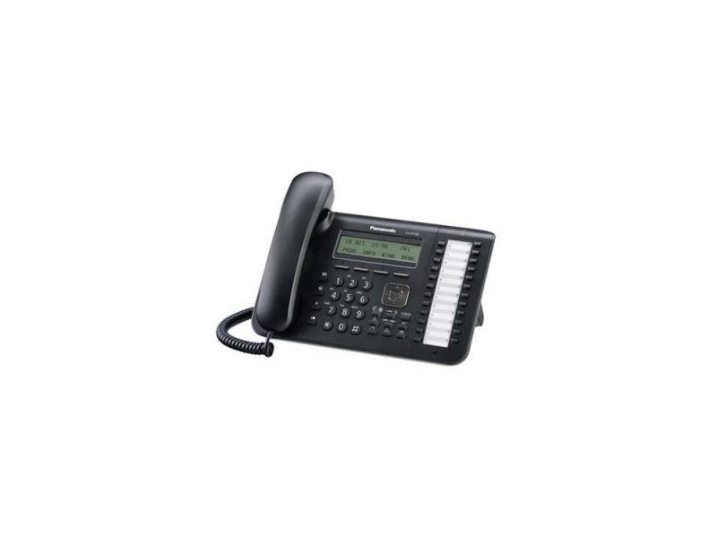цена Телефон IP Panasonic KX-NT543RU-B 2xLAN LCD 24 кнопки