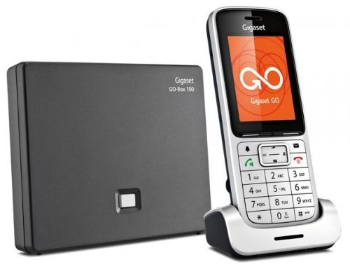 Телефон IP Gigaset SL450A GO серебристый S30852-H2721-S301