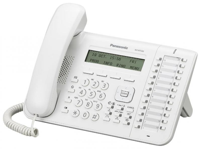 Картинка для Телефон IP Panasonic KX-NT543RU белый
