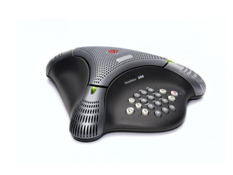 Телефон Polycom VoiceStation 300 для конференций черный 2200-17910-122 цена