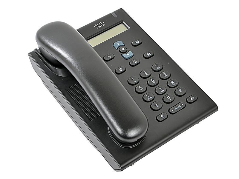 Телефон IP Cisco CP-3905= Unified SIP Phone 3905 Charcoal Standard Handset