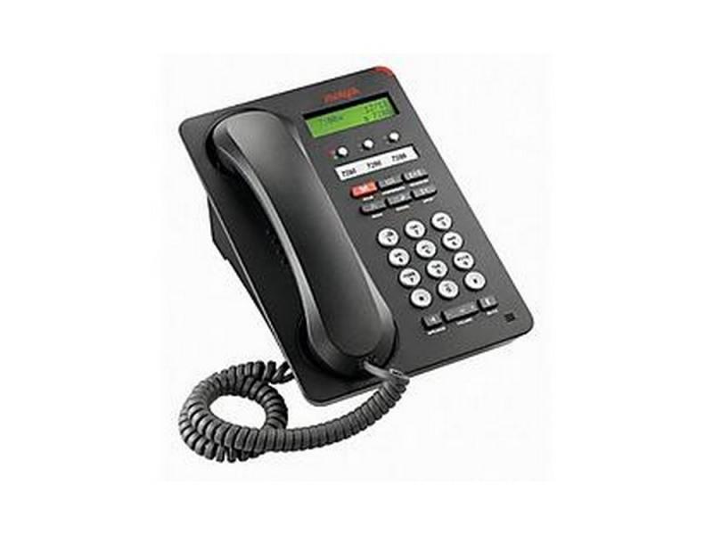 Фото - Телефон IP Avaya 1603SWi черный 700458524/700508258 проводной и dect телефон foreign products vtech ds6671 3