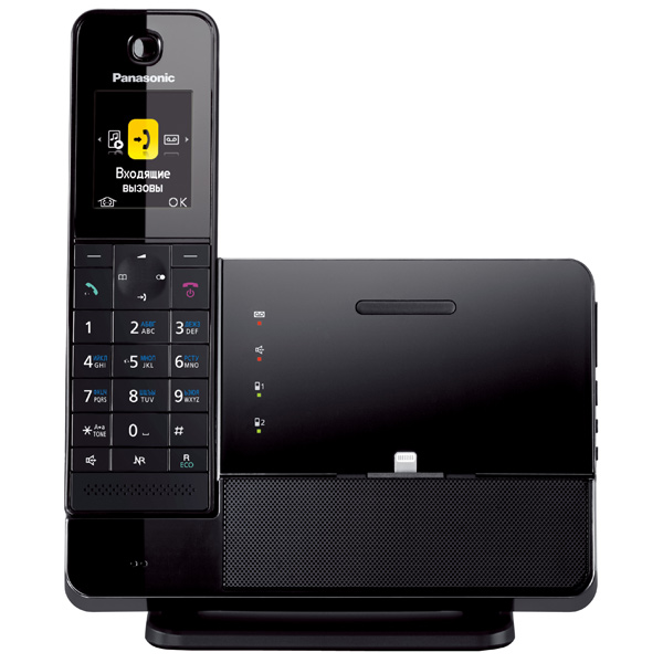 Телефон DECT Panasonic KX-PRL260RUB АОН, Caller ID 50, Color TFT, BT, Lighting Charging, Автоответчик электрокамин real flame обрамление ottawa std очаг fobos s lux bl
