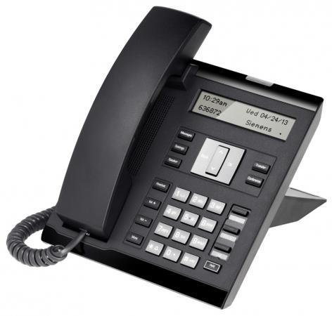все цены на Телефон IP Unify OpenScape 35G Eco Text черный L30250-F600-C420