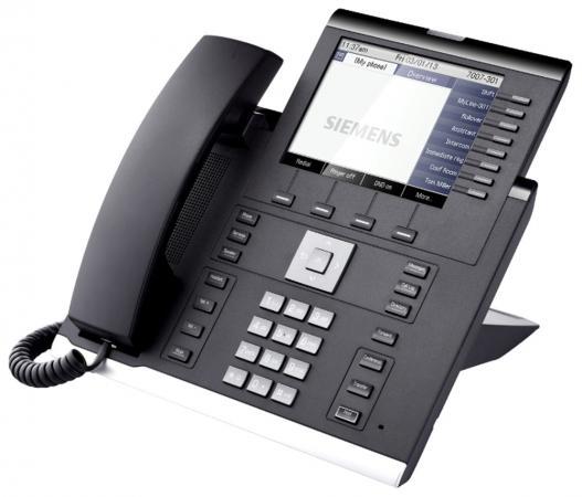 Телефон IP Unify OpenScape 55G черный L30250-F600-C290 атс ip unify l30251 u600 g615