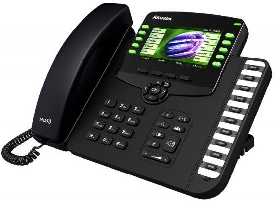 Телефон IP Akuvox SP-R67G 6 SIP-аккаунта 2x10/100/1000Mbps 4.3 LCD цветной PoE телефон ip akuvox sp r55p 3 sip аккаунта 2x10 100mbps 2 3 lcd poe