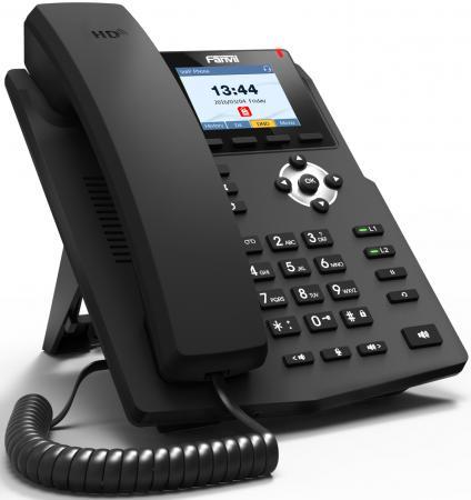 Телефон IP Fanvil X3G 2 линии 2x10/100/1000Mbps LCD телефон ip fanvil x4g 4 линии 2x10 100 1000mbps цветной lcd poe
