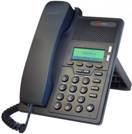 Телефон IP QTECH QVP-90P черный телефон