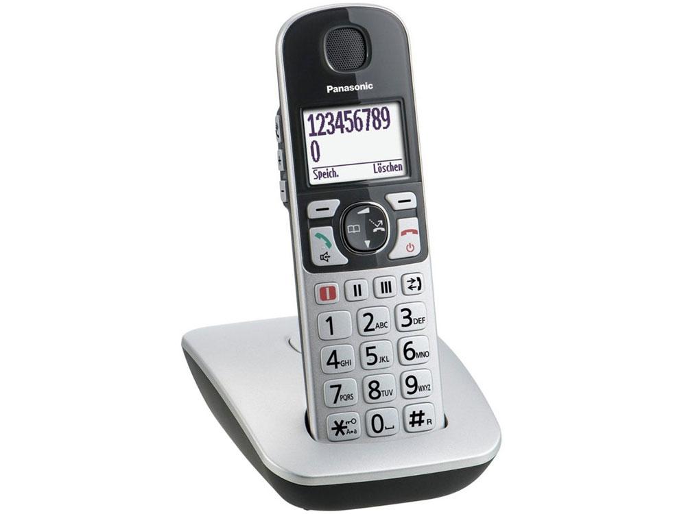 Телефон DECT Panasonic KX-TGE510RUS Эко-режим, Память 150, 330h, Функции для пожилых людей. шкатулка swiss kubik sk01 cv005 wp