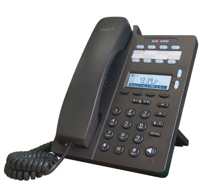 SIP-телефон Escene ES206-PN 2 SIP аккаунта, 128x64 LCD-дисплей, 4 программируемы клавиши + 8 клавиш быстрого набора BLF, XML/LDAP, регулируемая подста mr2920 sip 7
