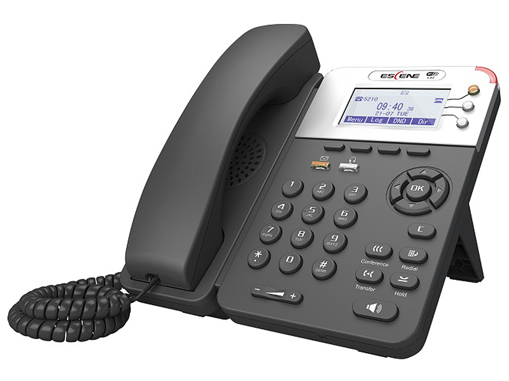 SIP-телефон Escene WS282-PV4 поддержка 5.8G WiFi 3 SIP аккаунта, 132x64 LCD-дисплей, XML/LDAP, регулируемая подставка, крепление на стену, разъемы дл 20pcs lot buy it diretly new original sip 1a12 dry reed relay 12v voltage free shipping 90 days warranty