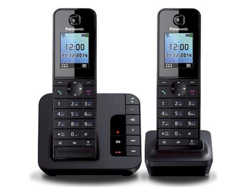 Телефон DECT Panasonic KX-TGH222RUB АОН, Color TFT, Caller ID 50, Эко-режим, Память 200, Black-List, Автоответчик