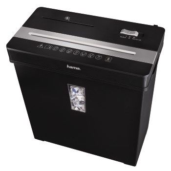 Уничтожитель бумаг Hama Basic Premium X8CD H-50188 7 лст 10лтр 2 Class конверты hama для cd dvd бумажные с прозрачным окошком белый 25шт h 51060