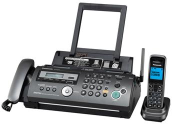 Факс Panasonic KX-FС278RU -T (обыч. бумага, цветной дисплей, DECT, АОН, а/о, спикер)