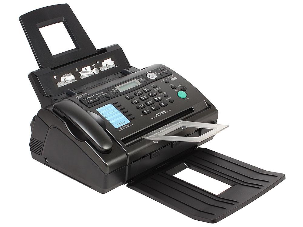 Факс Panasonic KX-FLC418RU (лазерный) (Обычная бумага А4) факс panasonic kx fc278ru t на основе термопереноса темно серый металлик