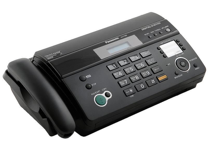 Факс Panasonic KX-FT988RU-B термобумага