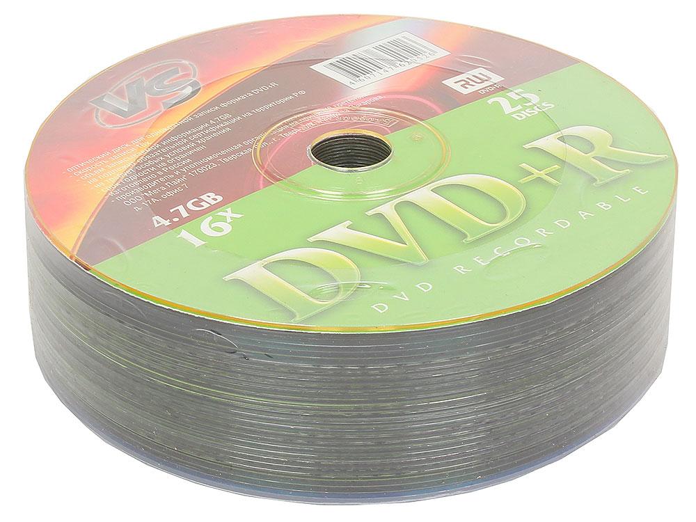 DVD+R VS 4,7Gb 16x 25шт Shrink