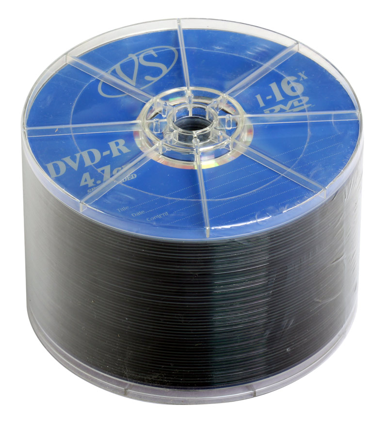 DVD-R VS 4.7Gb 16х 50шт Bulk dvd r vs 4 7gb 16х 10шт cake box