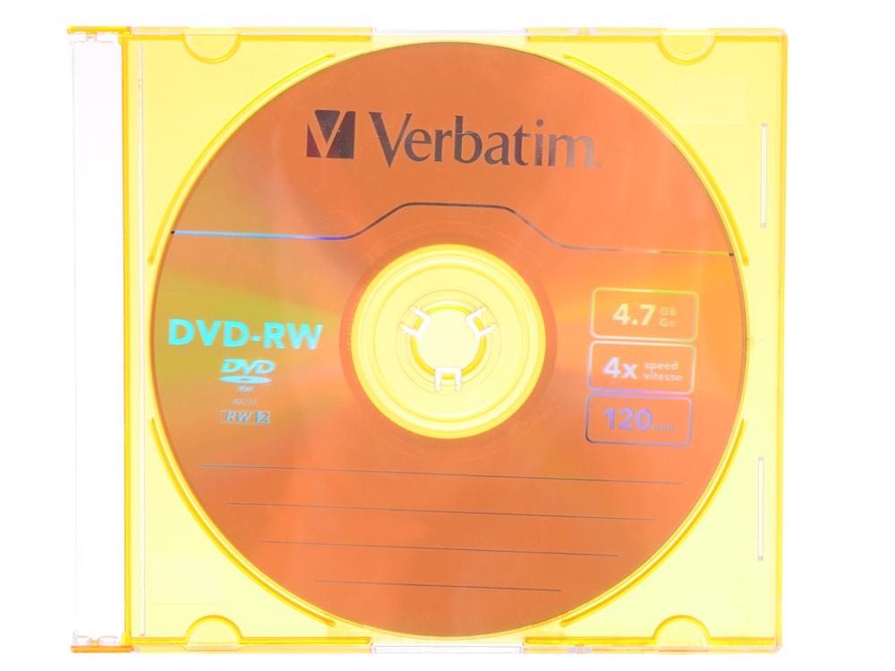 DVD-RW Verbatim 4.7Gb 4x Slim Color