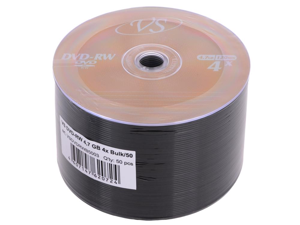 DVD-RW VS 4.7Gb 4х 50шт Bulk