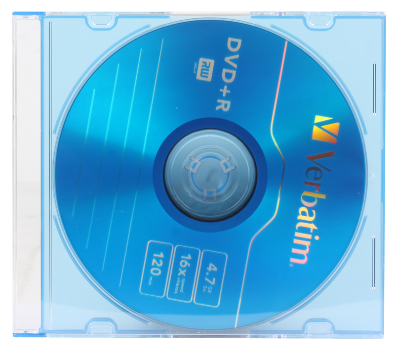 DVD+R Verbatim 4.7Gb 16x Slim