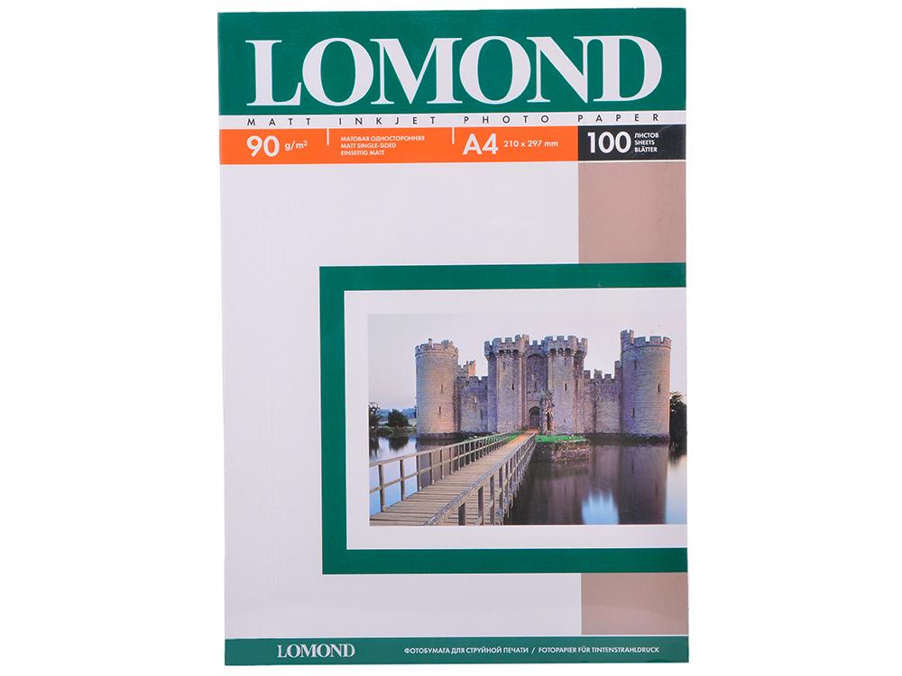 0102001 бумага LOMOND (A4, 90гр, 100л) Photo Матовая lomond photo 130 a4 100л бумага матовая двухсторонняя