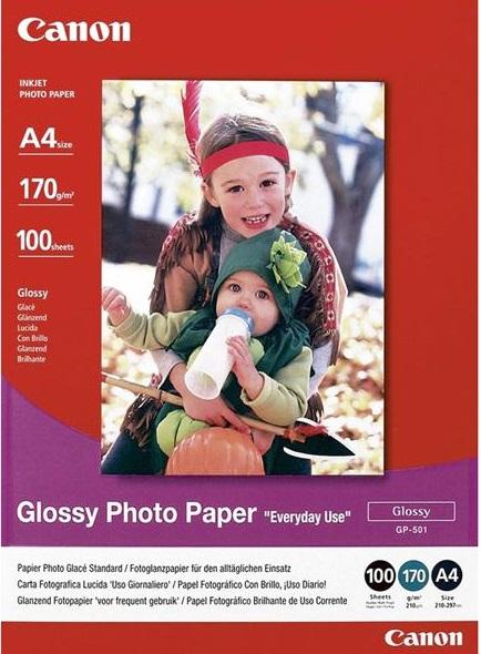 Фото бумага Canon GP-501 A4  170 г\м2 100 листов